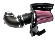 Roto-Fab Big Gulp Intake SS W/ Heartbeat or Whipple Supercharger - 2016-2019 Camaro SS