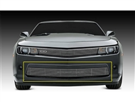 Billet Series Bumper Overlay Grille (Polished) #25031 :: Fits 2014-2015 Camaro LT RS