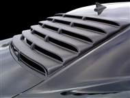Camaro Willpak Rear Window Louver in Textured ABS Plastic (painting NOT required) - fits all 2010, 2011, 2012, 2013, 2014, 2015 Camaro Coupe models