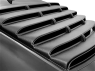 Camaro Willpak Rear Window Louver in ABS Plastic (painting required) - fits all 2010-2015 Camaro Coupe models