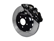 "Wilwood AERO6 Front Big Brake Kit, Black 6 Piston Calipers, 14"" Slotted Rotors :: 2016-2019 Camaro LS, LT, RS,SS, & ZL1"
