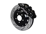 "Wilwood AERO6 Front Big Brake Kit, Black 6 Piston Calipers, 14"" Drilled & Slotted Rotors :: 2016-2019 Camaro LS, LT, RS,SS, & ZL1"