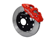 "Wilwood AERO6 Front Big Brake Kit, Red 6 Piston Calipers, 14"" Slotted Rotors :: 2016-2019 Camaro LS, LT, RS,SS, & ZL1"