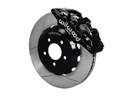 "Wilwood AERO6 Front Big Brake Kit, Black 6 Piston Calipers, 15"" Slotted Rotors :: 2016-2019 Camaro LS, LT, RS,SS, & ZL1"