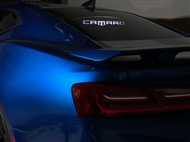 WindRestrictor Coupe Wind Deflector - Etched & Illuminated - 2016-2018 Camaro Coupe