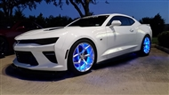 RGB Wheel Ring Kit:: Fits all 2010-2020 Camaro models