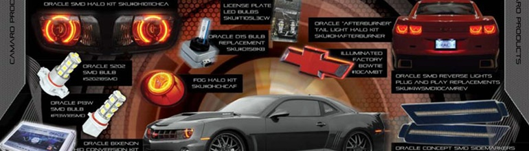 camaro lighting upgrade kits & halos for all 2010, 2011, 2012, 2013, & 2014  camaro ss & v6 (rs & non-rs) models
