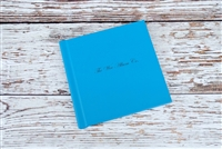 "6x6"", 7x5"" or 8x6"" Album - Eco leather cover - Velvet Photo Paper"
