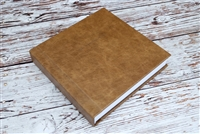 "7x5"" or 8x6"" Album - Premium leather cover - Gallery Cotton Fine Art Paper"