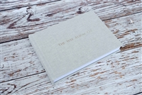 "7x5"" or 8x6"" Album - Linen cover - Smooth Fine Art Paper"