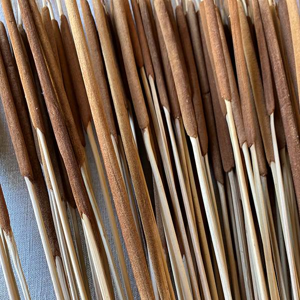 Pencil Cattails Dark Brown