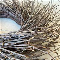 Birch Wreath Natural