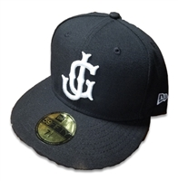JG Logo Official New Era On-Field Black Hat
