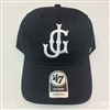 JG Logo 47 MVP Black Adjustable Hat