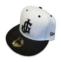 JG Logo Official New Era On-Field White Hat