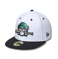 Alternate Sarge Logo Official  New Era On-Field White Hat