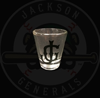 Jackson Generals Shot Glass
