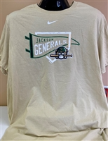 Nike Gold Shirt with JG Banner
