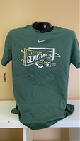 Nike Green Shirt with JG Banner