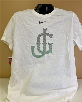 Nike White Shirt with Gradient JG Logo