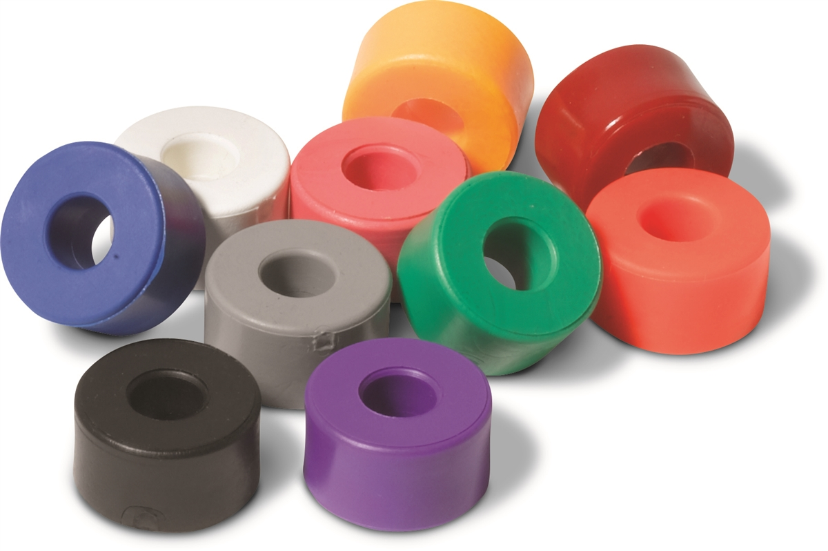 8 Pack Sure-Grip Super Cylinder Rubber Truck Cushions