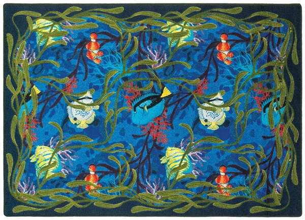 under the sea rug jc1501xx joy carpets. Black Bedroom Furniture Sets. Home Design Ideas