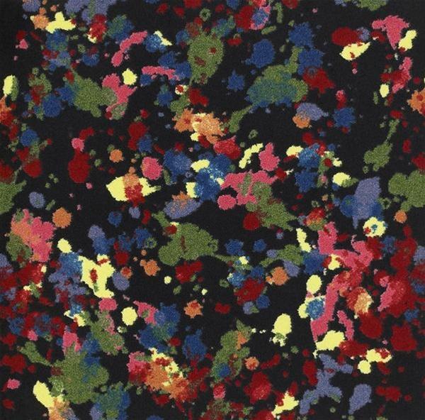 Splatter Paint Wall To Wall Carpet 13 6 Quot Jc1503w Joy