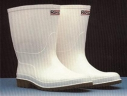 Royal White Shrimper Boots PVC