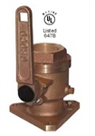 Full Flow Flanged Ball Valve Seacock