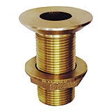 Thru-Hull Fitting with Nut Dripless Bronze