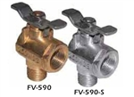 90-Degree Fuel Valve