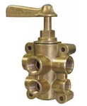 "6-Port Fuel Valve 1/2"" Supply"