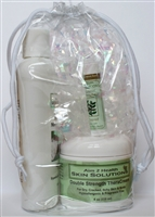 Gift Set #6 Double Strength Cream + Face & Body Wash + Lip Balm