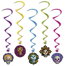 Day of the Dead Whirls
