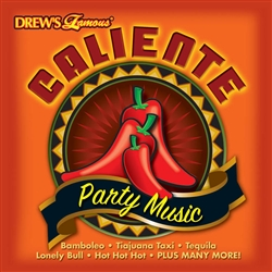 Caliente Party Music CD | Cinco de Mayo Party Favors