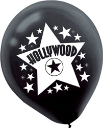 Hollywood Latex Balloons | Party Supplies