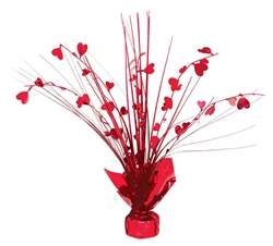 Heart Spray Centerpiece - 12"
