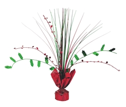 Holly Spray Centerpiece | Party Supplies
