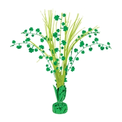Shamrock Spray Centerpiece | party supplies