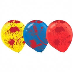 Creepy Carnival Blood-Splattered Balloons