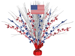 "Patriotic Large 18"" Spray 