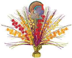 Turkey Large Spray Centerpiece | Party Supplies