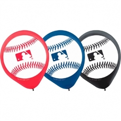 Rawlings Major League Baseball Printed Balloons | Party Supplies