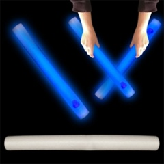 "16"" Foam Blue LED Cheer Stick for Sale"