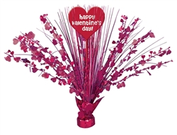 Valentine Heart Spray Centerpiece - 18"