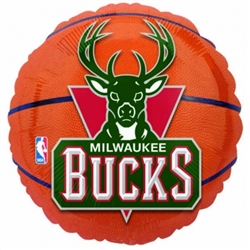 Milwaukee Bucks Metallic Balloons | Party Supplies