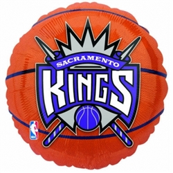 Sacramento Kings Metallic Balloons | Party Supplies
