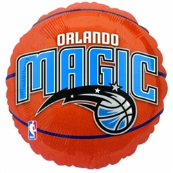 Orlando Magic Metallic Balloons | Party Supplies