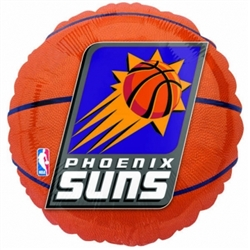 Phoenix Suns Metallic Balloons | Party Supplies