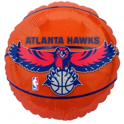 Atlanta Hawks Metallic Balloons | Party Supplies